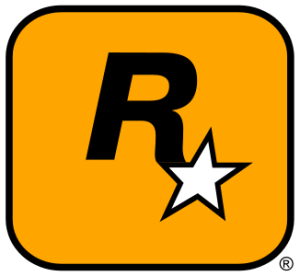 Rockstar Games logo.